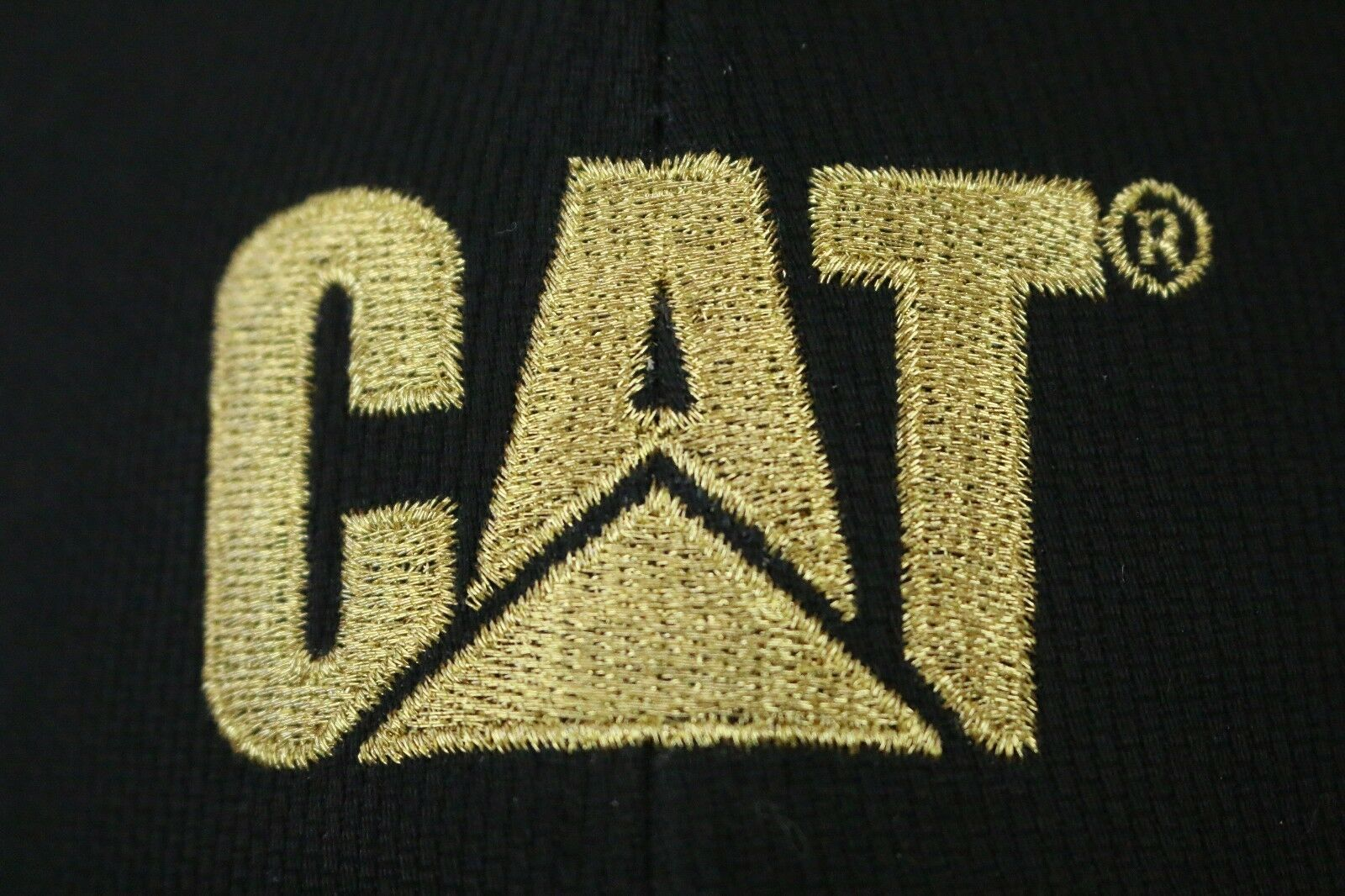 6ae47826f62c4 CAT Caterpillar Inc.VIP Hat Gold Embroidered Customer Cap HEO Heavy  Equipment OP