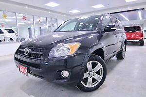 2012 Toyota RAV4  SPORT AWD, ONE OWNER, CLEAN CARPROOF, NON SMOK