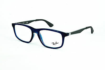 Ray-Ban Damen Herren Brillenfassung  RB7055 5393 53mm blau // 281 (15)