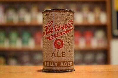 Harvard Aleflat top beer can, Harvard Brewing, Lowell MA -SUPER CLEAN!