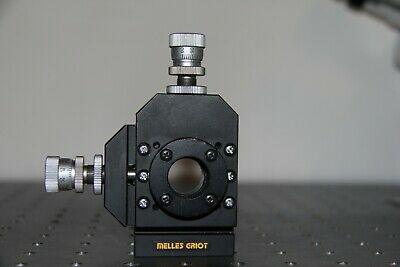 Melles Griot Laseroptics Mount With Differential Micrometers 1div 0.4 Microns
