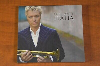 Italia (Deluxe Edition) by Chris Botti (CD, 2007, Columbia) with Bonus DVD