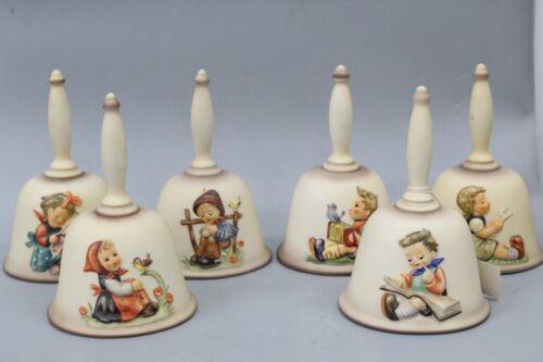 Hummel Annual Bells By Goebel West Germany Set of 6 1978