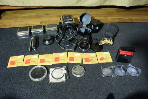Zenza Bronica Camera With Many Extras