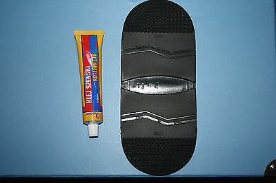 DIY RUBBER PREMIUM STICK ON HEELS /SHOE REPAIR /ANTI SLIP /EXTRA GRIP
