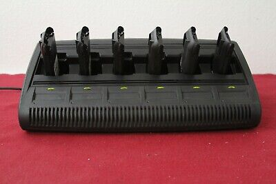 Motorola Impres Six Unit Gang Charger Part Wpln4197a