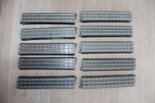 Lionel Prewar OO Track #0062 10 Straights 1938 Track Only 3-Rail