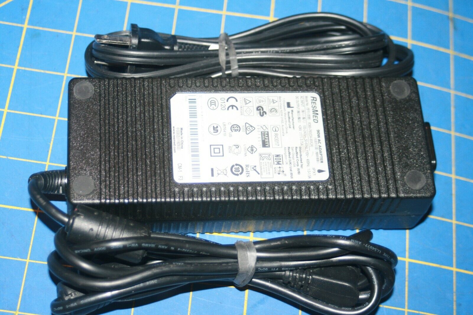 OEM/Genuine ResMed 90W AC Adapter Model No. R360-760 DA-90A24 3-Pin-Tested - $32.99
