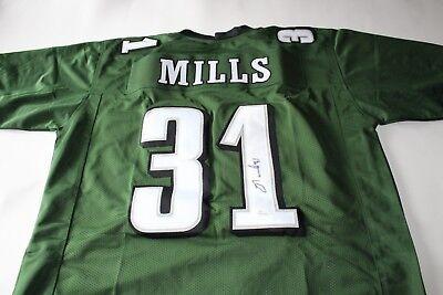 Jalen Mills Philadelphia Eagles signed autographed football jersey JSA COA  auto 5c85feba7