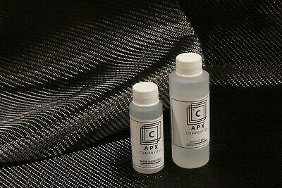 Apx 2000 Clear Epoxy Resin 12 Oz Slow Hardener For Carbon Fiber