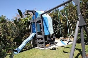 Kids play fort / cubby house with swing set Launceston Launceston Area Preview