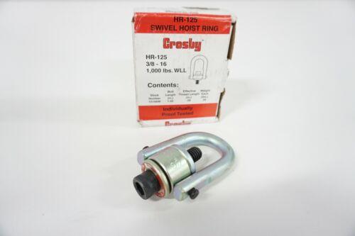 "CROSBY 1016898 HR-125 HOIST RING 3/8""-16 1,000 WLL"