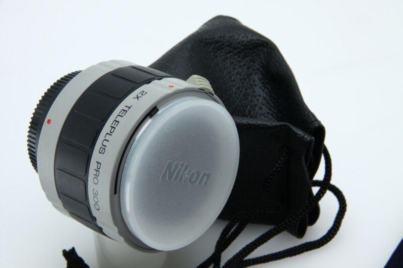 Teleplus Pro 300 Kenko-Tokina 2X N-AFs For Nikon Very Good Condition 391834