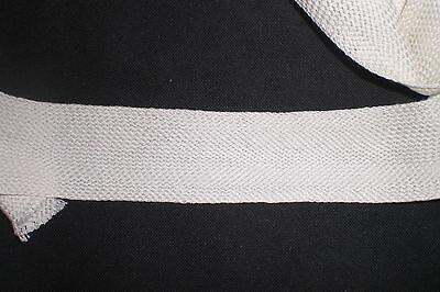 SUPER SCHNÄPPCHEN Tresse wollweiß  BW 10 Meter 1,50€ ca. 35mm breit
