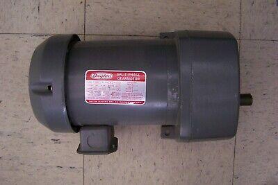 Dayton 6k383 Ac 12hp 90rpm 115v 1ph 19.01 Split Phase Gearmotor New