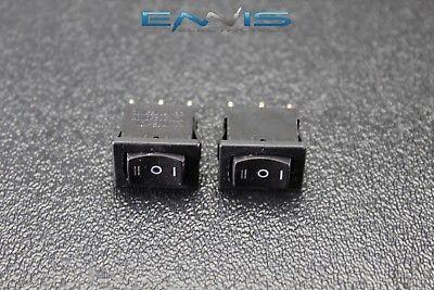 2 Pcs Mini On Off On Momentary Spring Kickback Rocker Switch Toggle Ec-1115pp