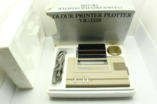 Vintage Commodore Vic-20 VIC 1520 Color Plotter Printer w/ Box