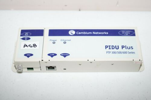 ^ Cambium Networks PIDU Plus PTP 300/500/600 Series #A58