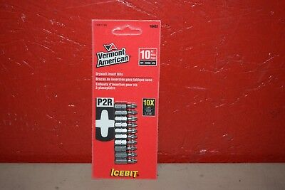 Vermont American 10 Pack Ice Bit P2R Drywall Insert Bits 16492