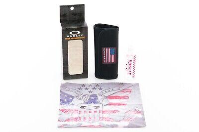 Oakley Sunglassses Lens Cleaning Kit USA Flag | Romeo Mars Juliet Penny Half X