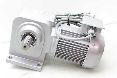 Mitsubishi Gm-shy-rl 200v Worm Right Angle Gear Motor 0.75kw 101 Ratio 180rpm