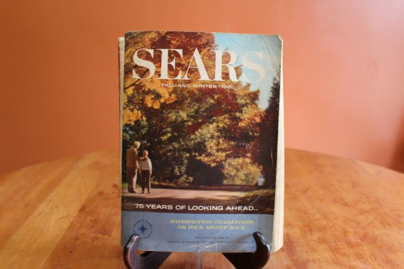 Vintage Sears, Roebuck & Company Fall Winter 1961 Catalog 1,482 Pages Chicago
