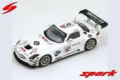 1:43 Mercedes SLS n°62 Spa 2013 1/43 • SPARK SB048