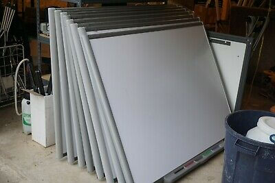 Lot Of 9 Boards Smart Board Sb680 77 Interactive Whiteboard Sb560
