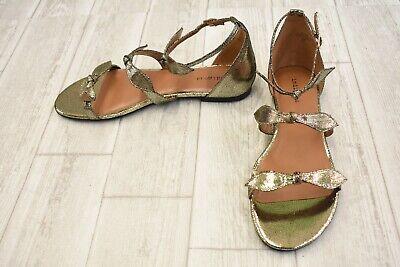 **Indigo Rd. Luna Flat Sandal - Women's Size 10M - Gold NEW!