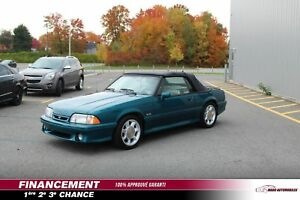 1993 FORD MUSTANG DÉCAPOTABLE