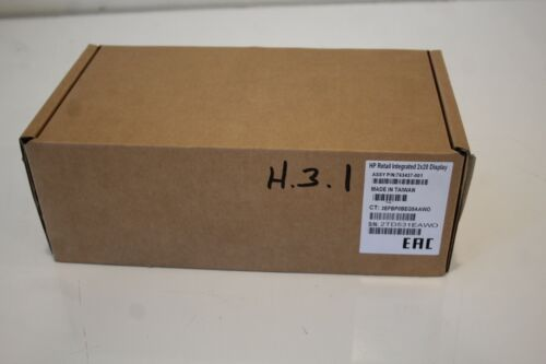 HP Retail Integrated 2X20 Display 763437-001