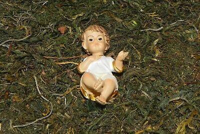 """Baby Jesus Figurine for 3.5"""" Nativity Scene Creche Manger Scene Presepio Pesebre"""