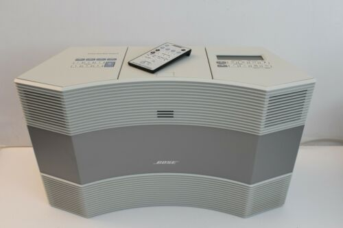 BOSE, Acoustic Wave Music System II - AM/FM/CD Player - Remote Control - White