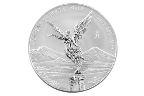 2019 2oz Silver Libertad Reverse Proof - Official mintage 1,000