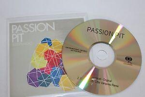 Passion Pit - UK promoCD / Sleepyhead 2008 - Apeldoorn, Nederland - Staat: Vrijwel nieuw: Een object dat zojuist uit de verpakking lijkt gehaald. Het object vertoont geen slijtage, is intact en in onberispelijke staat. Bekijk de aanbieding van de verkoper voor de volledige details en een beschrijvin - Apeldoorn, Nederland