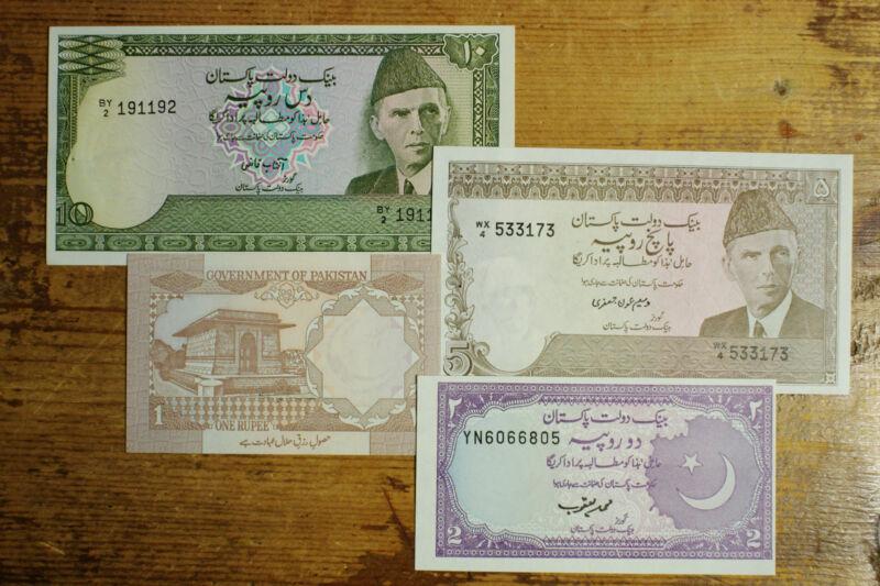 4 different Pakistan 1970