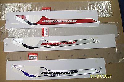 Honda AquaTrax  RIGHT Stripe Decal NEW OEM 83505-HW3-A00ZA Graphic Sticker