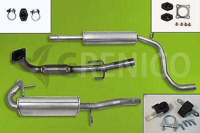 Auspuff Seat Arosa 1.0 1.4 Volkswagen Lupo 1.0 Schrägheck Auspuffanlage *3001