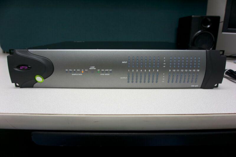 Avid HD I/O 16 x 16 Analog Interface
