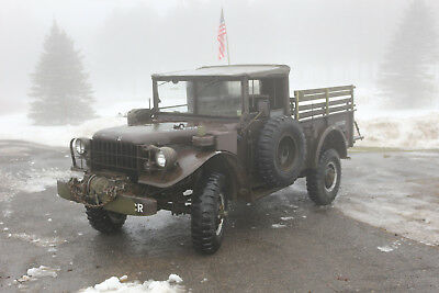 1963 Dodge Power Wagon  1963 dodge m37 b1