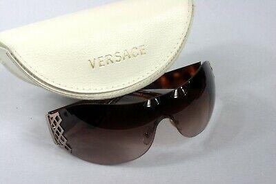 Versace Sonnenbrille Mod. 4158 braun Schildpattbügel Originaletui in weiß