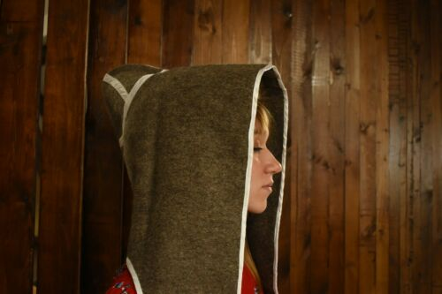 High quality replica of a 19th century Imperial Russia Cossack Ataman burka hood