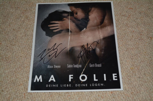 ALICE DWYER & SABIN TAMBREA signed autograph In Person 8x10 (20x25 cm) MA FOLIE