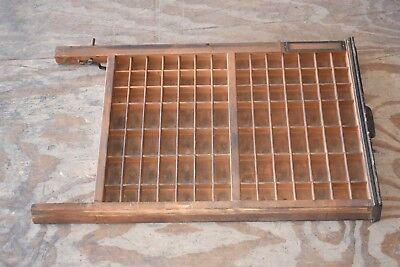 Ludlow Antique Printer Tray Drawer Set 1 or lot 50