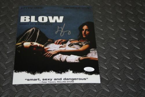 GEORGE JUNG SIGNED AUTOGRAPHED 8X10 PHOTO MOVIE BLOW JSA WITNESS DVD COVER POSE