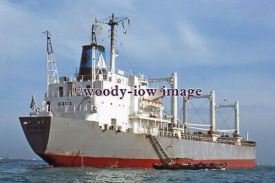 mc4988 - Greek Cargo Ship - Frinton - photograph