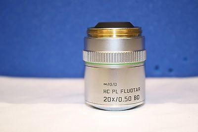 High Quality Leica 566507 Hc Pl Fluotar 20 0.50 Bd Microscope Objective