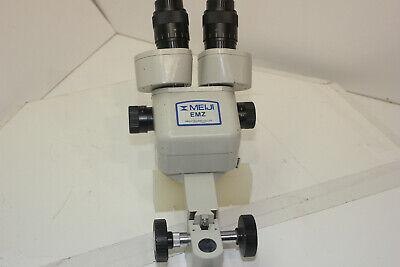 Meiji Techno Emz-5 Stereozoom Microscope No Eyepieces