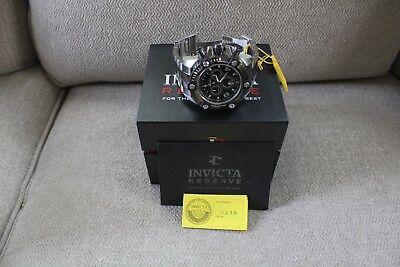 Invicta Reserve Arsenal Model #0338 Big Date Chronograph Men's Swiss Made!!