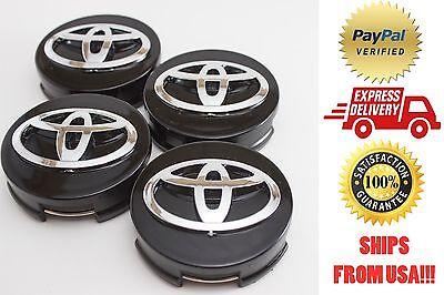 Toyota Camry, Highlander, Prius, Sienna, Venza, Avalon, Matrix 4x Center Caps
